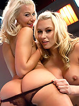 Blonds Twins in Bondage MACHINE FUCKED with a Guest Fisting by Princess Donna