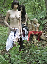 Lesbian Dating, Carole Hunt and Jen Bailey and Samantha Bentley 2